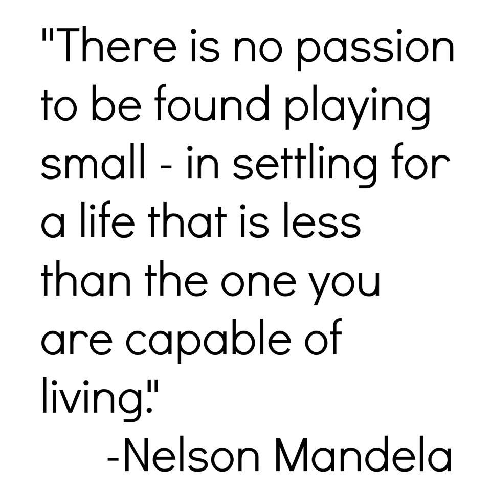 Nelson Mandela Passion