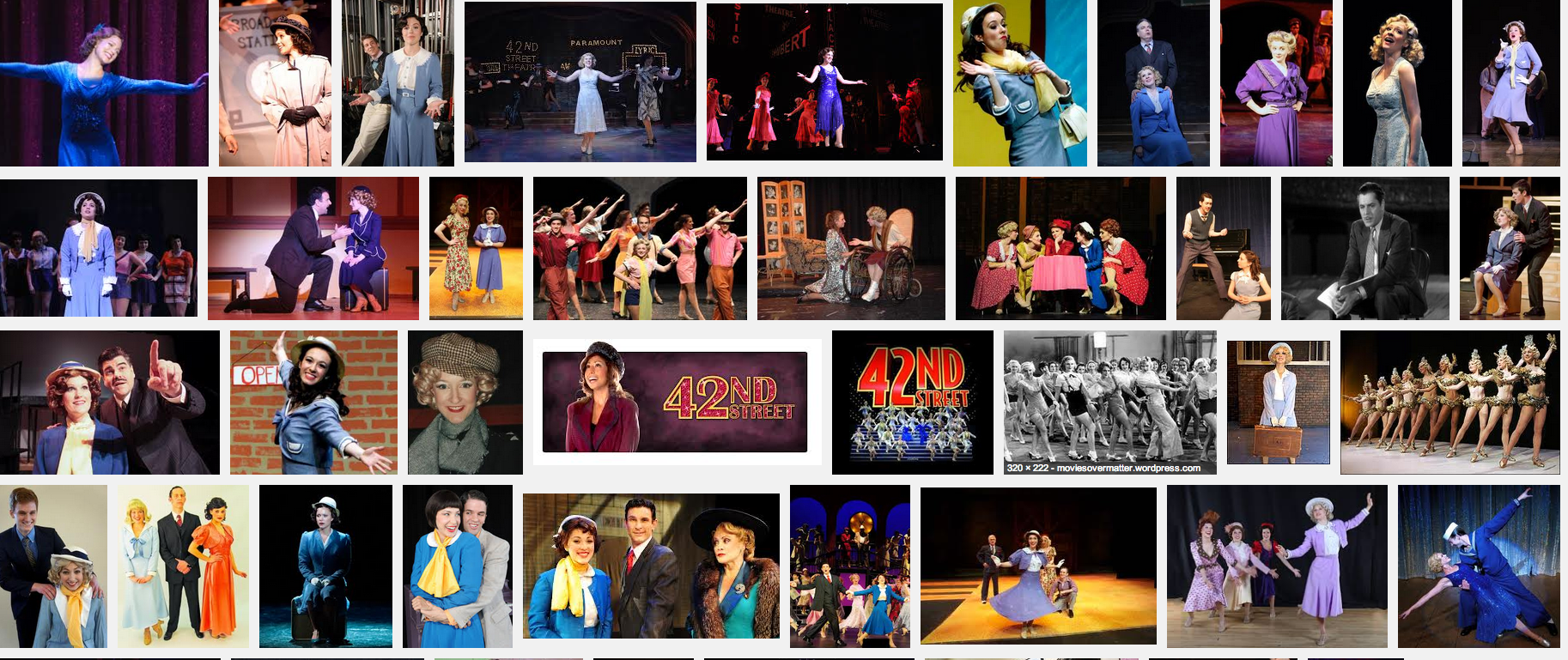 Peggy Sawyer Google Image Search 42nd Street