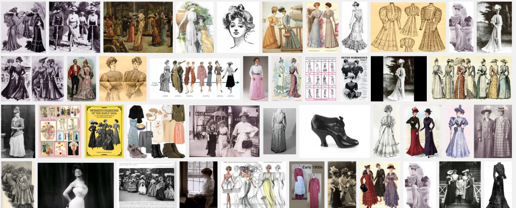 1900's women's clothing